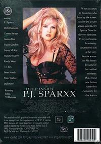 Deep Inside P.J. Sparxx back box cover