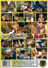 Classic Blondes Have More Fun video