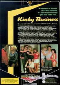 Kinky Business back box cover