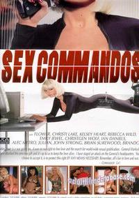 Sex Commandos back box cover