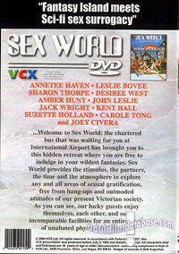 Sex World back box cover