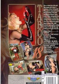 Taboo 18 back box cover