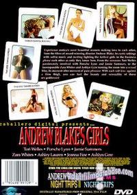 Andrew Blake's Girls back box cover