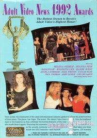 1992 AVN Awards back box cover