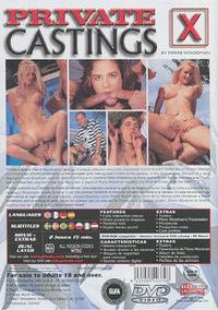 Private Castings X 3 - Lost Virginity back box cover