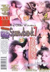 Older Woman's Sperm Bank 7 back box cover