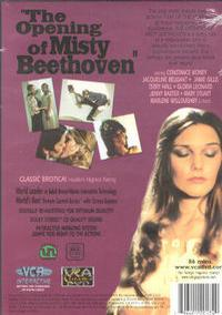 Opening of Misty Beethoven back box cover