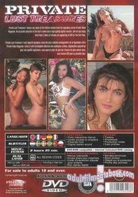 Private Lust Treasures back box cover