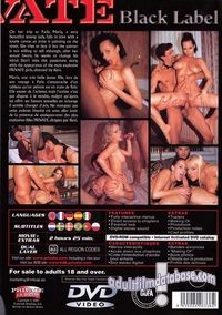 Private Black Label 21 - Lust Tango In Paris back box cover