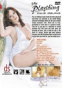 My Plaything - Kylie Ireland back box cover