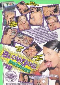 Blowjob Fantasies 19 back box cover