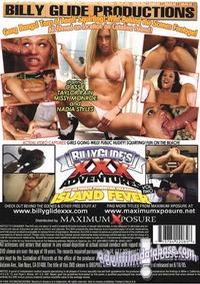 Billy Glide's XXX Adventures 2 - Island Fever back box cover