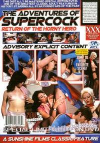 Adventures of Supercock back box cover