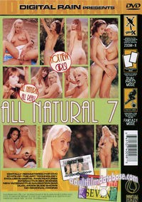All Natural 7 back box cover