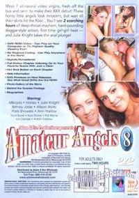 Amateur Angels 8 back box cover