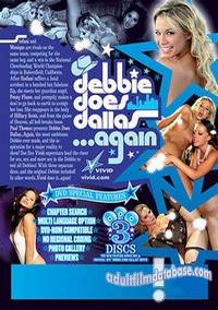 Debbie Does Dallas Again back box cover