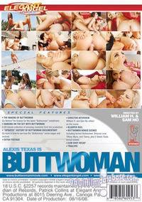 Alexis Texas is Buttwoman back box cover