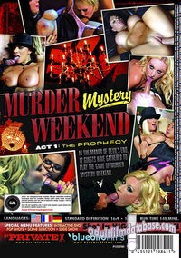 Murder Mystery Weekend back box cover