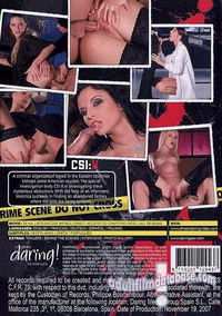 CSI - X back box cover