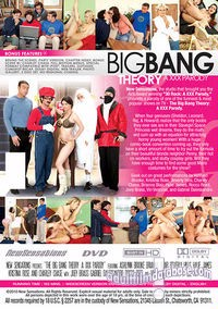Big Bang Theory - A XXX Parody back box cover