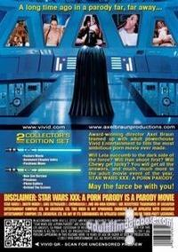 Star Wars XXX - A Porn Parody back box cover