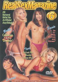 Real Sex Magazine 6 box cover