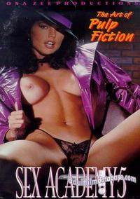 Ona Zee's Sex Academy 5 - The Art of Pulp Fiction box cover