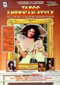 Taboo American Style 3 - Nina Becomes an Actress box cover