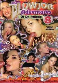 Blowjob Adventures of Dr. Fellatio 8 box cover