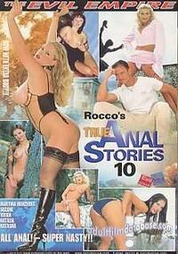 Rocco's True Anal Stories 10 box cover