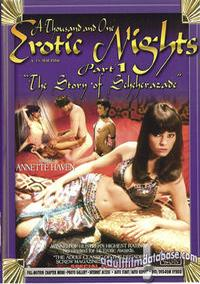 1001 Erotic Nights 1 box cover