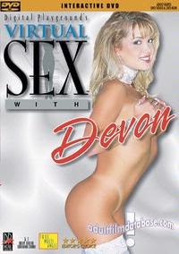 Virtual Sex With Devon DVD VHS Video Image