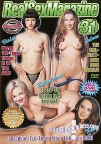 Real Sex Magazine 31 box cover