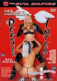 Euro Angels Hardball 10 - Depraved Intent box cover