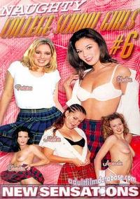Naughty College School Girls 6 box cover