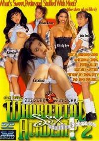 Whoriental Sex Academy 2 box cover