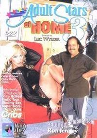 Adult Stars at Home 3 DVD VHS Video Image