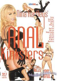 Nina Hartley's Anal Kinksters 2 DVD VHS Video Image