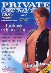 Private Lust Treasures 7 box cover