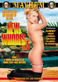 New Whores 5 box cover