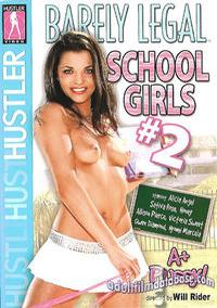 Barely Legal School Girls 2 box cover