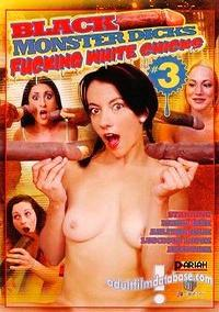 Black Monster Dicks Fucking White Chicks 3 box cover