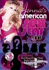 Jenna's American Sex Star 2007 box cover