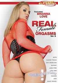 Real Female Orgasms 8 box cover