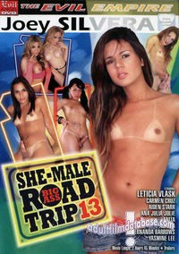 Big Ass She Male Road Trip 13 box cover