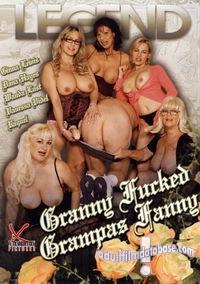 Grandma in lust is dildoing full bushed cunt