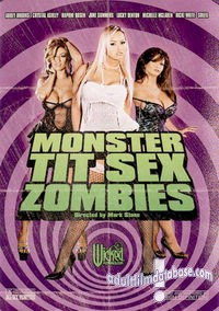 Monster Tit Sex Zombies DVD VHS Video Image
