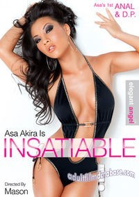 Asa Akira is Insatiable box cover image