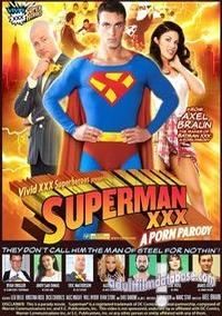 Superman XXX - A Porn Parody DVD VHS Video Image