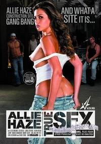 Allie Haze - True Sex DVD VHS Video Image